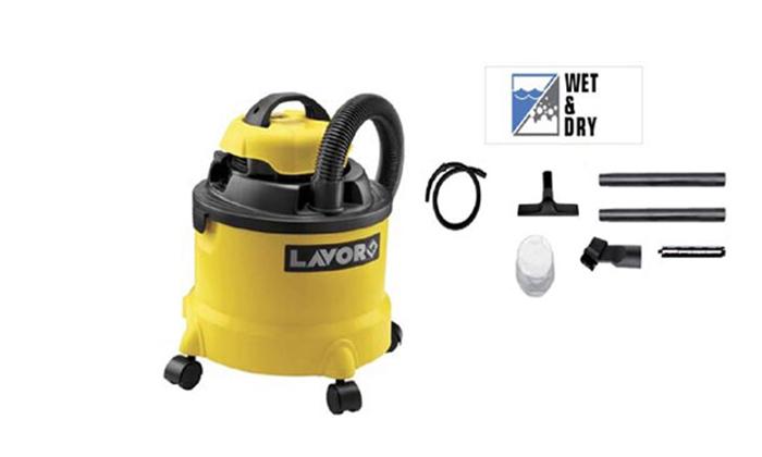 3 שואב אבק יבש / רטוב LAVOR