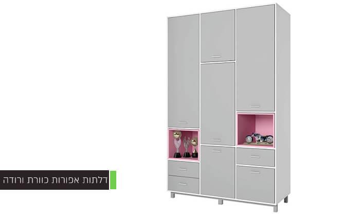 4 רהיטי סוכריה: ארון ילדים ונוער