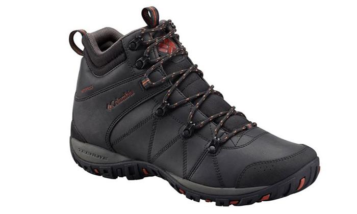נעלי טיולים מבודדות לגברים קולומביה Columbia - משלוח חינם