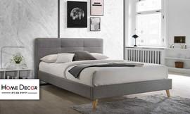 מיטה זוגית מרופדת דגם טנסי