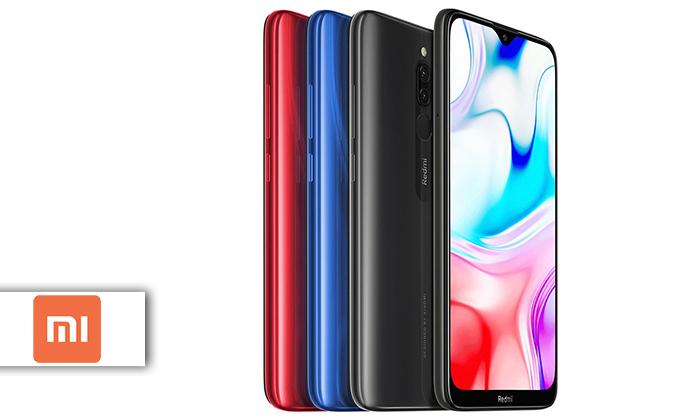 2 סמארטפון שיאומי Redmi 8 32/64GB - משלוח חינם