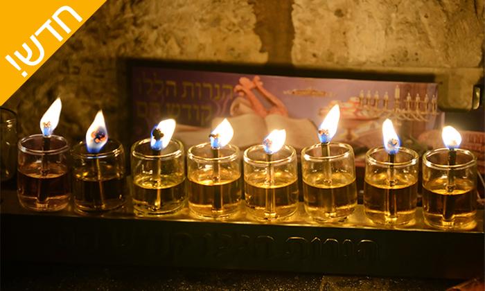 6 סיורי חנוכיות בירושלים