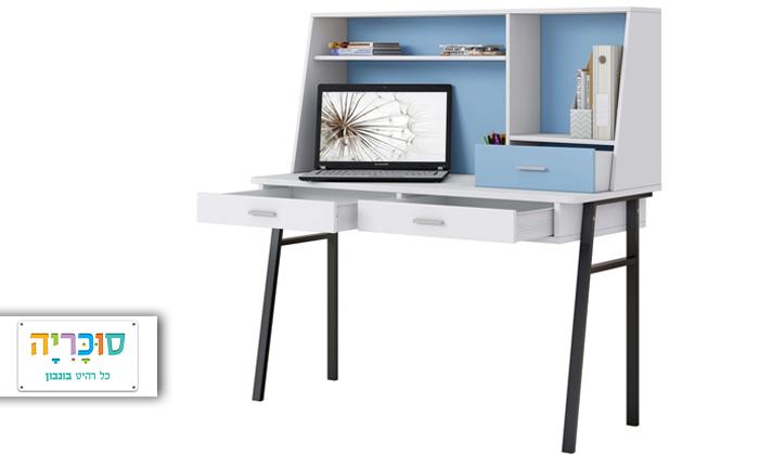 רהיטי סוכריה: שולחן כתיבה לחדר ילדים ונוער