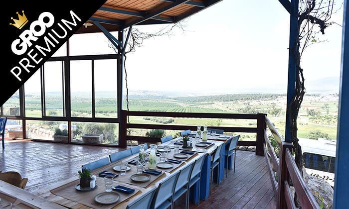 6 מסעדת חוות התבלינים בגלבוע - ארוחת פרימיום זוגית