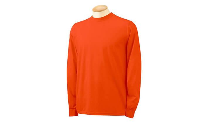 4 מארז 4 חולצות שרוול ארוך מנדפות זיעה
