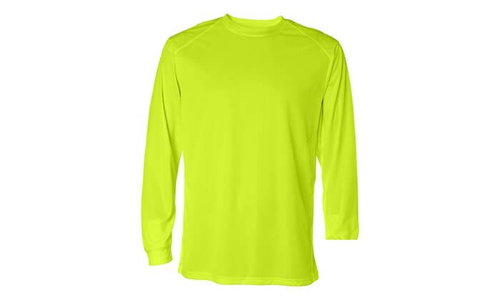 5 מארז 4 חולצות שרוול ארוך מנדפות זיעה