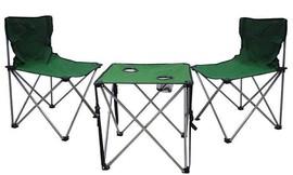 2 כיסאות ושולחן קמפינג