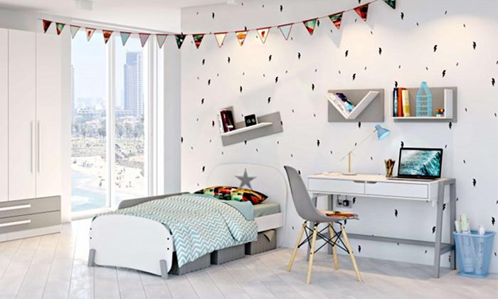 8 רהיטי סוכריה: מדף לקיר לחדר ילדים ונוער