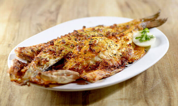 3 דיל ל-24 שעות: דרבי בר דגים במרינה הרצליה - ארוחה זוגית