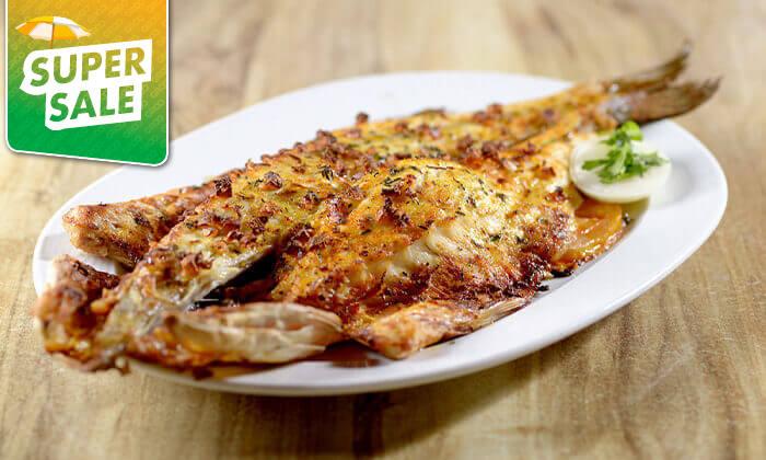 3 דרבי בר דגים במרינה הרצליה - ארוחה זוגית