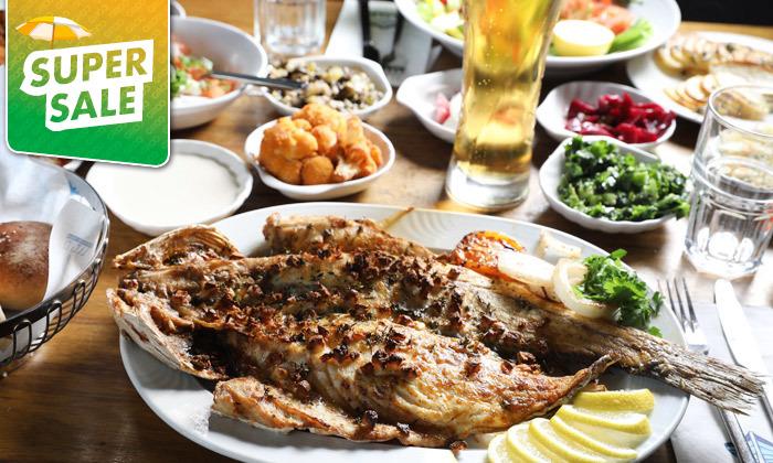 12 דרבי בר דגים במרינה הרצליה - ארוחה זוגית