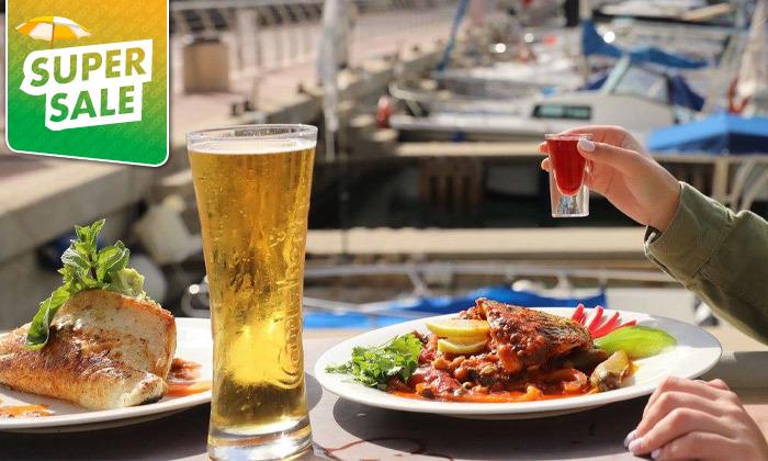 4 דרבי בר דגים במרינה הרצליה - ארוחה זוגית