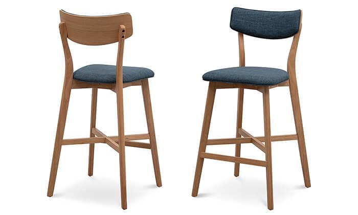 7 שמרת הזורע: כיסא בר מרופד