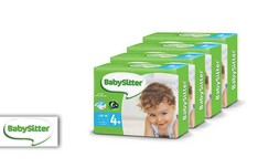 4 חבילות חיתולי Babysitter