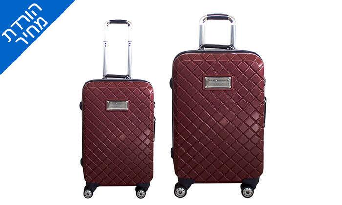 4 זוג מזוודות TOMMY HILFIGER