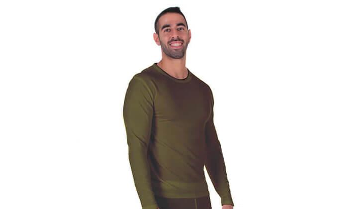4 זוג חולצות תרמיות לגבר - משלוח חינם