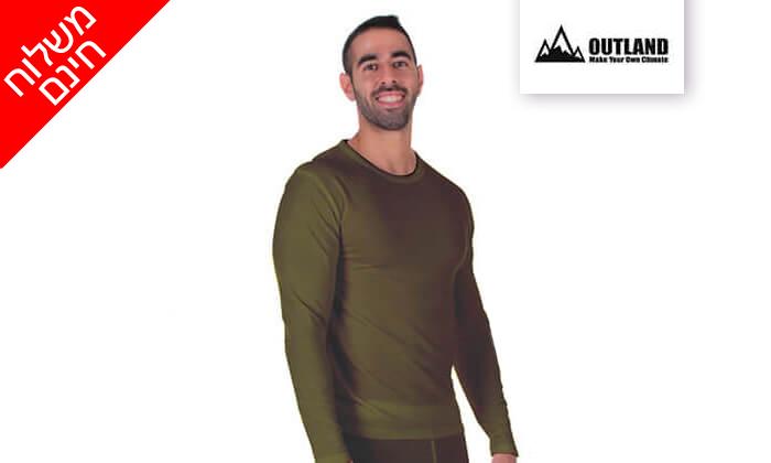 3 זוג חולצות תרמיות לגבר - משלוח חינם