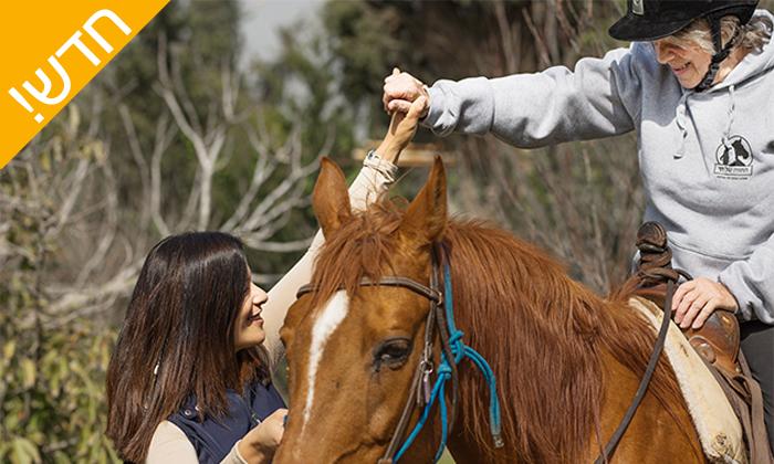 8 רכיבה טיפולית על סוסים לאוכלוסיה הבוגרת - נסוס, רחובות