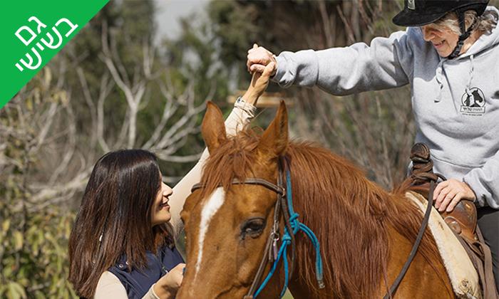 8 רכיבה טיפולית למבוגרים על סוסים - נסוס, רחובות