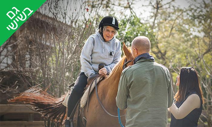 6 רכיבה טיפולית למבוגרים על סוסים - נסוס, רחובות
