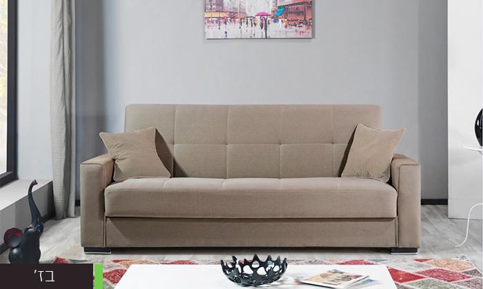 3 ספה תלת מושבית נפתחת