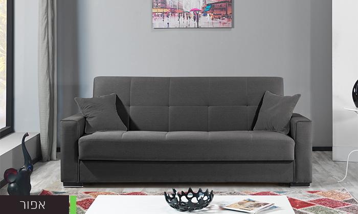 4 ספה תלת מושבית נפתחת