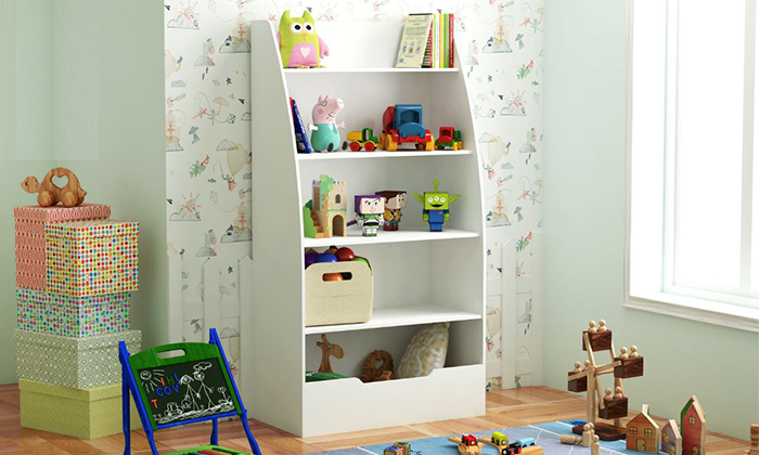 יחידת אחסון לחדר ילדים