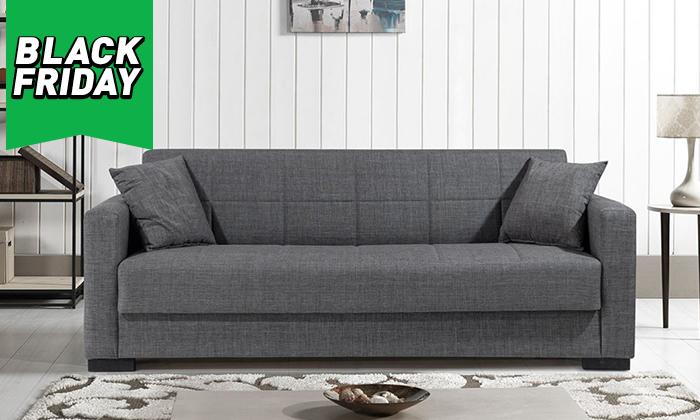 6 ספה תלת מושבית נפתחת דגם נורית