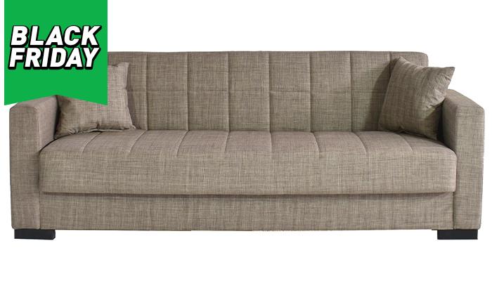3 ספה תלת מושבית נפתחת דגם נורית