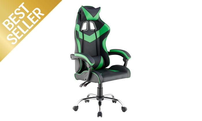 5 כיסא גיימרים עם מבנה ארגונומי