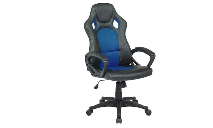 2 כיסא מנהלים דגם SILVER STONE בריפוד דמוי עור