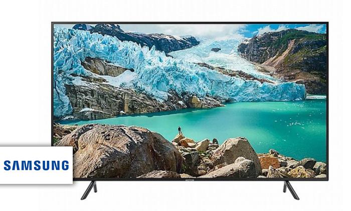 2 טלוויזיה חכמה 4K SAMSUNG, מסך 75 אינץ'