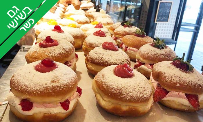 14 מארז סופגניות כשרות עם מילוי לבחירה, מאפיית הטאבון תל אביב