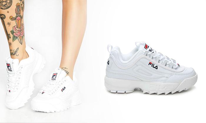 נעלי סניקרס לנשים פילה FILA Disruptor - משלוח חינם לזמן מוגבל