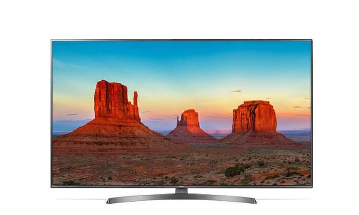 טלוויזיה חכמה 4K LG, מסך 75 אינץ'