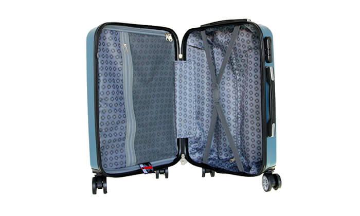 9 סט 3 מזוודות קשיחותSWISS