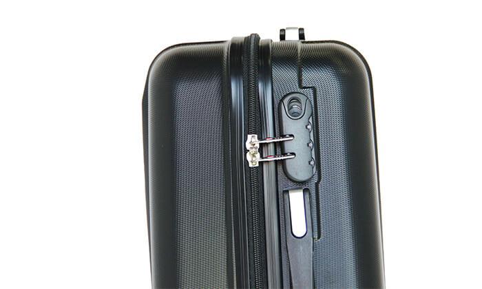 10 סט 3 מזוודות קשיחותSWISS