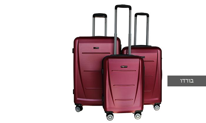 6 סט 3 מזוודות קשיחותSWISS