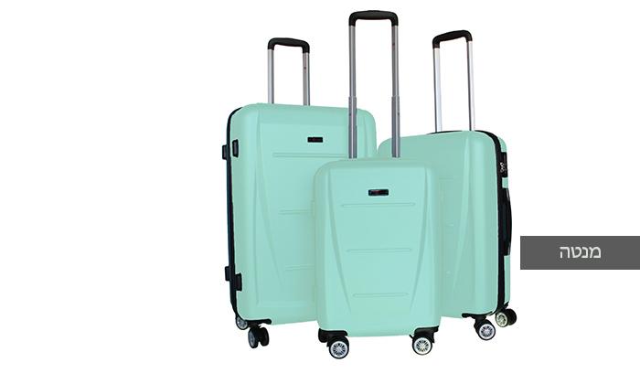 7 סט 3 מזוודות קשיחותSWISS