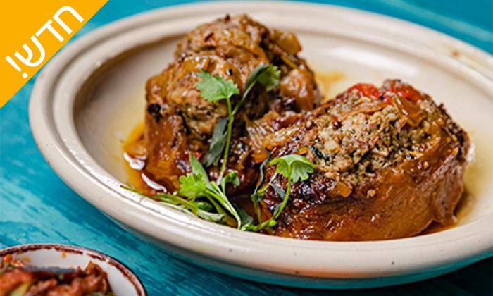"""6 """"קוקה"""" המטבח של לאה סיבוני בשדרות רגר, באר שבע - ארוחת בשרים זוגית כשרה"""
