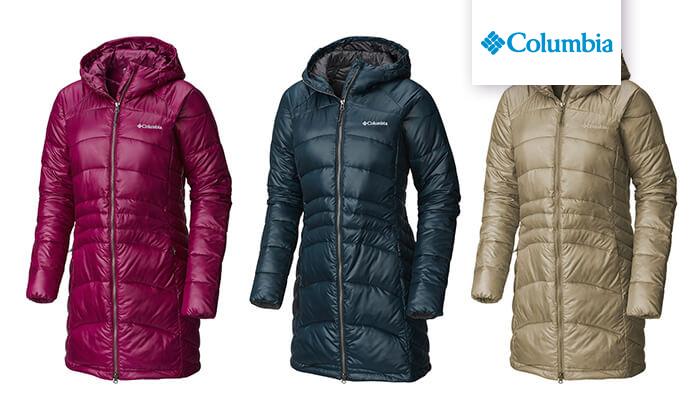 5 מעיל פוך לנשים Columbia