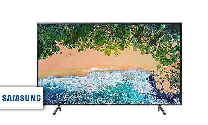2 טלוויזיה חכמה 4K SAMSUNG עם מסך 43 אינץ'