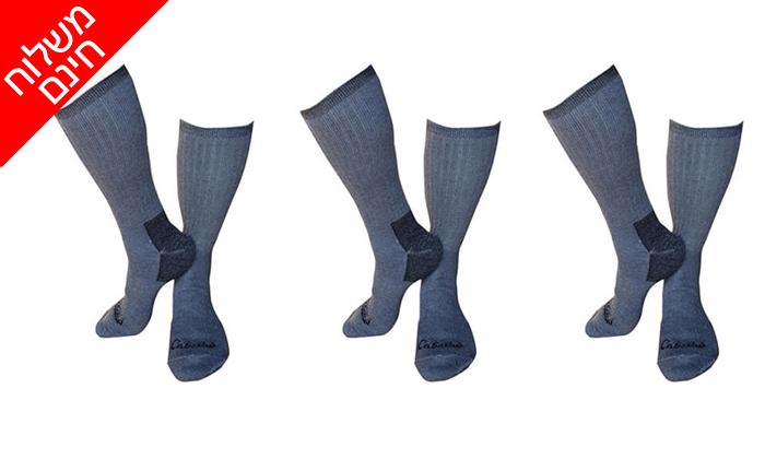 2 מארז 3 זוגות גרביים תרמיים OUTLAND לגברים ולנשים - משלוח חינם