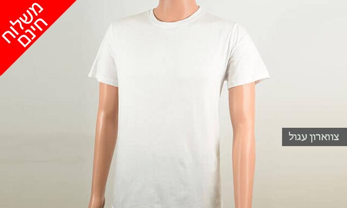 5 דיל ל-72 שעות- סט 9 חולצות טי לגברים SANTA BARBARA POLO CLUB - משלוח חינם