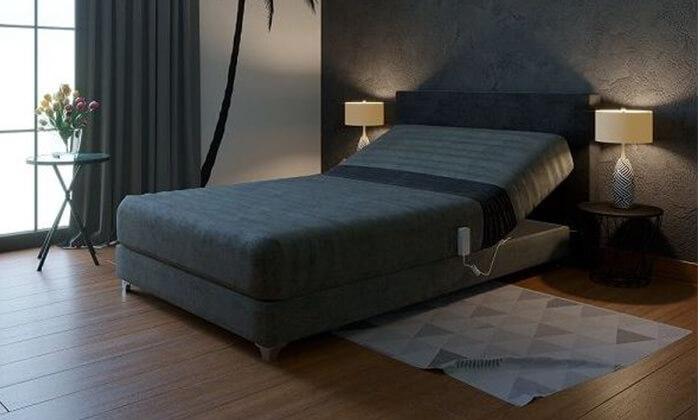 2 מיטת נוער מתכווננת חשמלית