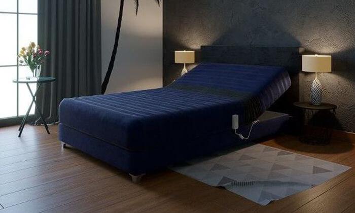 4 מיטת נוער מתכווננת חשמלית