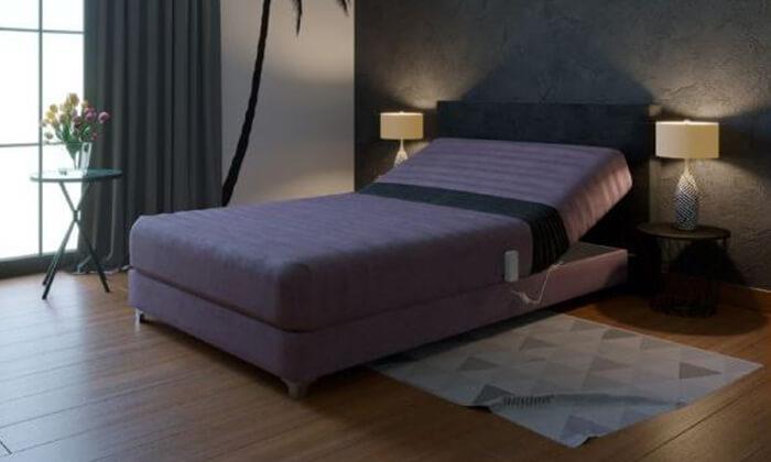 6 מיטת נוער מתכווננת חשמלית