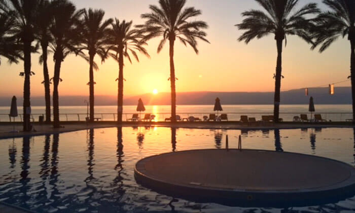 8 יום פינוק עם עיסוי ליחיד במלון חוף גיא, טבריה
