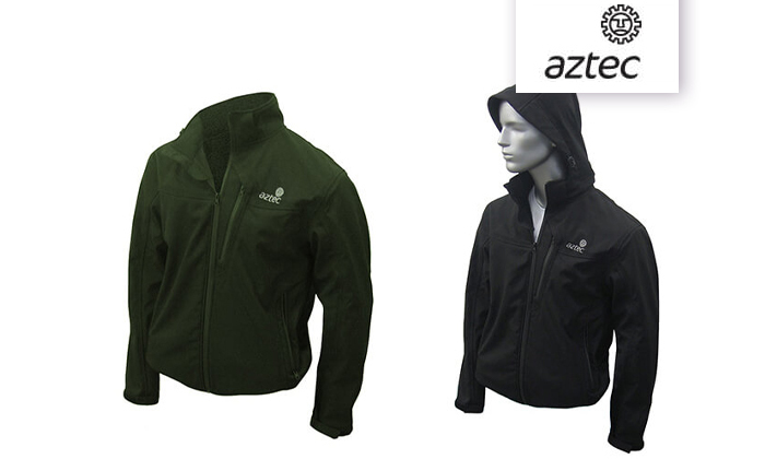 3 מעיל סופטשל לגברים AZTEC