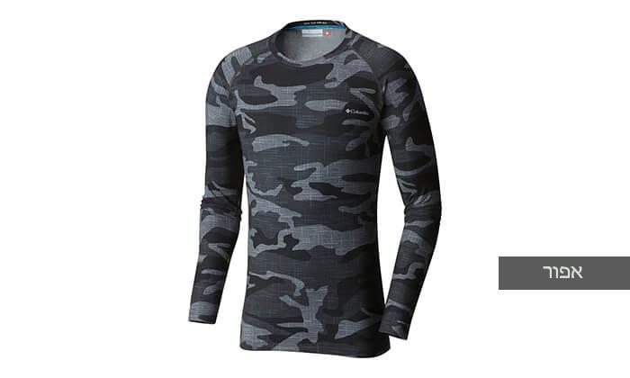 6 חולצה תרמית ארוכה לגברים Columbia